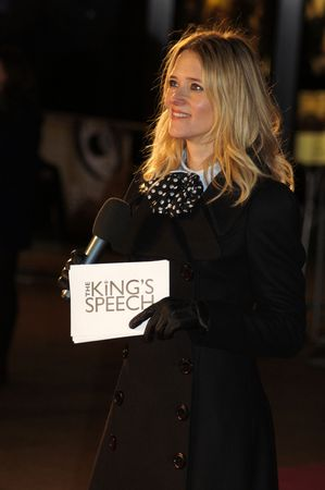 bowman: LONDON - October 21: Edith Bowman At The Kings Speech Premiere October 21, 2010 in Leicester Square London, England.