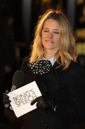 bowman: Londra - 21 ottobre: Edith Bowman presso discorso Premiere del re 21 ottobre 2010 a Leicester Square, London, England.