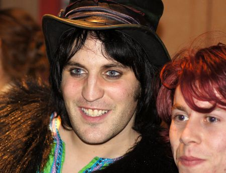 eventful: LONDON - October 22: Noel Fielding At The Submarine Premiere October 22, 2010 in Leicester Square London, England.      Editorial