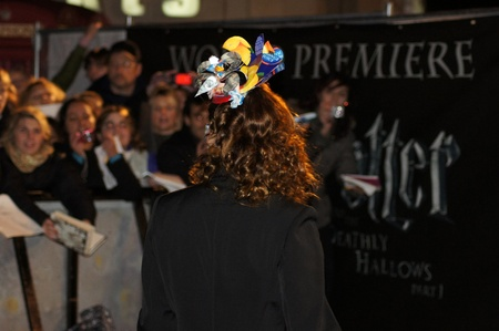hallows: LONDON - November 13: Natalia Tena At The Harry Potter And The Deathly Hallows Premiere November 13, 2010 in Leicester Square London, England.