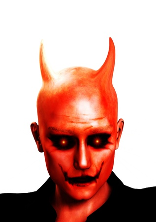 The face of the devil for evil concepts. Stock Photo - 8931108