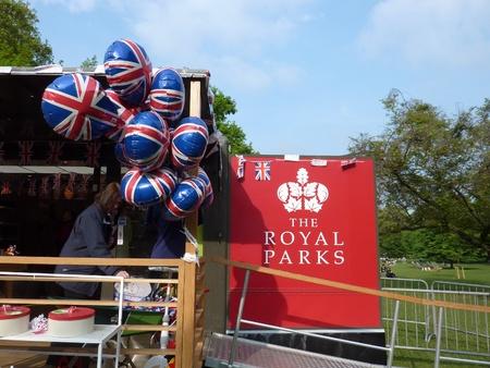royal wedding: LONDON - April 26: Royal wedding Merchandis Editorial