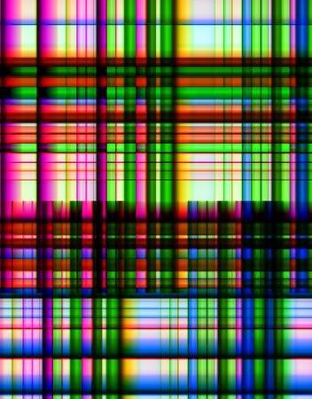 A multicolour abstract background made out of lines.