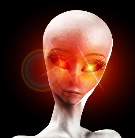 hoax: An image of an alien life form