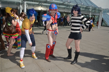 eventful: London - May 27: Cosplayers At The MCM Expo London April 27th, 2012 in London, England.