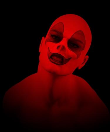 clownophobia: Cerca de un payaso loco Psycho