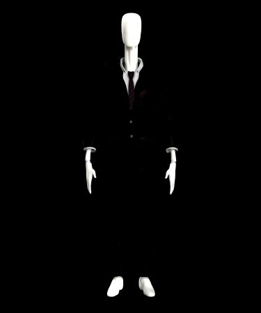 The slender man of internet mythology  Stock Photo - 15830541