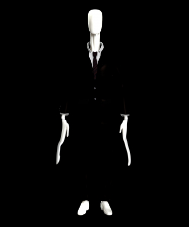 The slender man of internet mythology  Stock Photo - 15830545