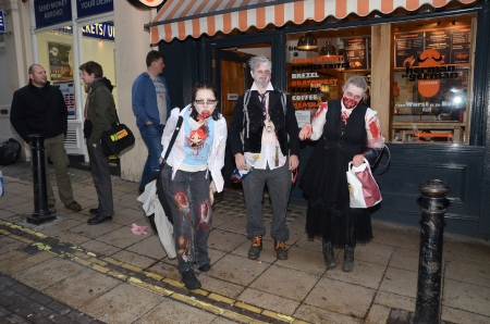 eventful: London � October 13: People celebrate World Zombie Day London 2012 by dressing as Zombies October 13th, 2012 in London, England.