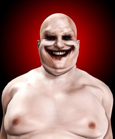 clownophobia: Muy gorda y horrible payaso psic�pata buscando.