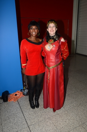 eventful: London � October 20: Fans In Costume Attend Destination Star Trek Englands Largest Ever Star Trek Convention October 20th, 2012 in Excel Centre London, England.    Editorial