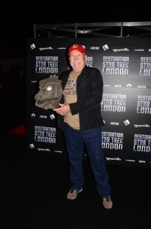 eventful: London � October 19: Actor Bobby Clark Attends Destination Star Trek Englands Largest Ever Star Trek Convention October 19th, 2012 in Excel Centre London, England.
