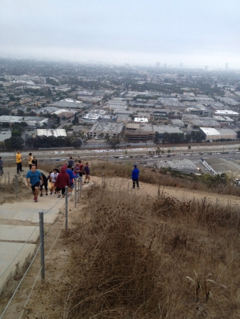 Culver City Stairs Scenic Route