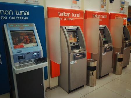 teller: Automatic teller machine Stock Photo
