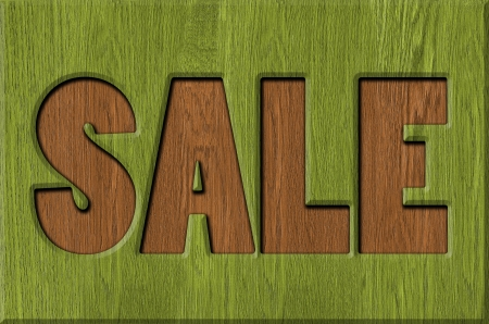 Sale signs, background Stock Photo - 22507701
