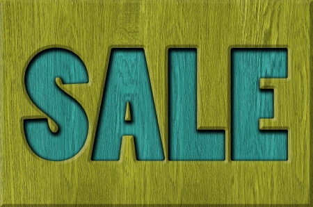 Sale signs, background Stock Photo - 22507703