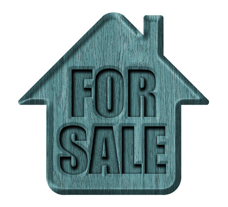 Home icon, for sale sign photo