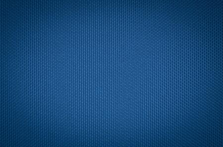 ブルーのナイロン生地のテクスチャ背景。