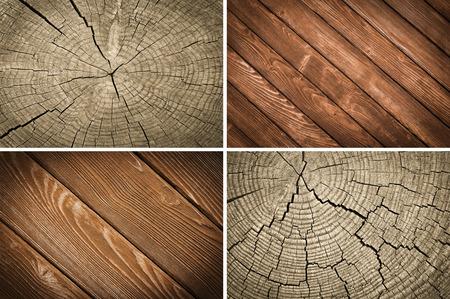 set wooden texture background photo