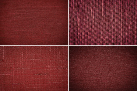 Set fabric texture background photo