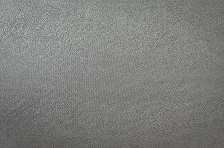 leatherette: gray leather background or texture Stock Photo