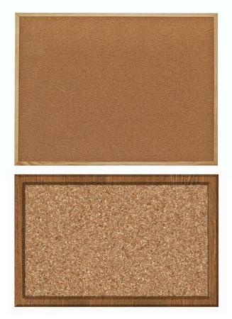 cork bulletin board, set photo