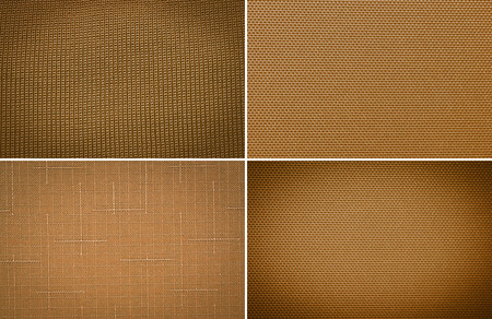 groupings: Set tessuto trama di sfondo
