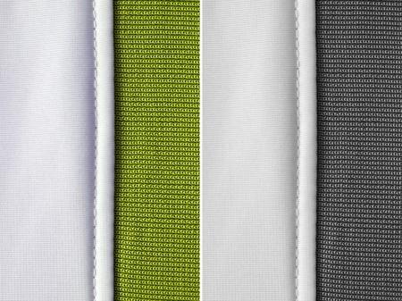 stapled: fabric texture background, set