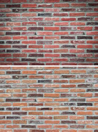 groupings: texture brick wall, set Archivio Fotografico