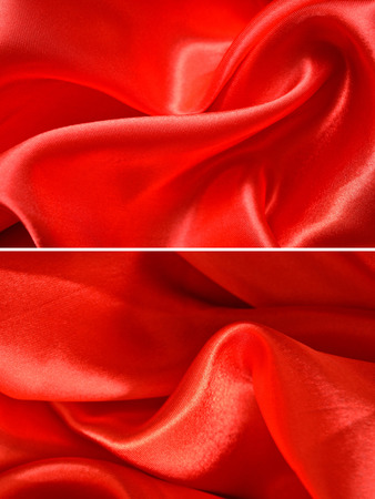 groupings: Set satin fabric texture background