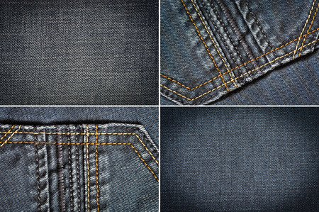 Jeans fabric texture background photo