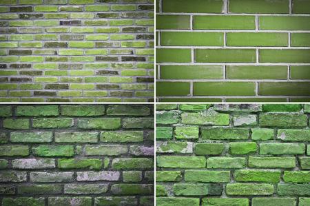 groupings: muro di mattoni, set