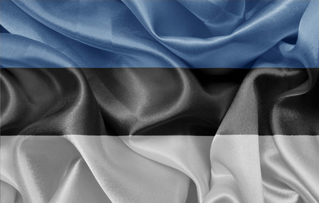 estonian: Estonian satin flag