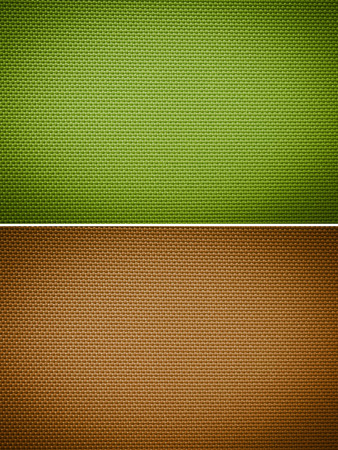 gold flax: Set fabric texture background