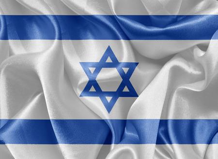 israeli: Israeli satin flag