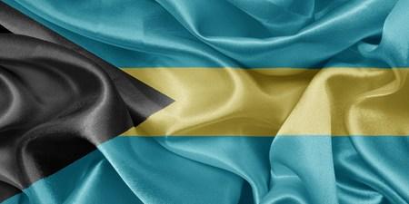bahama's: satin flag bahamas