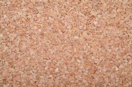 blank board: cork texture - closeup