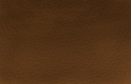 leatherette: brown leather background or texture Stock Photo