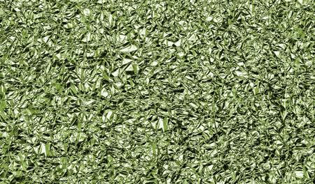 aluminum foil: crumpled aluminum foil, abstract background