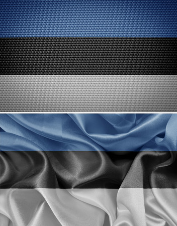 estonian: Estonian textile flags
