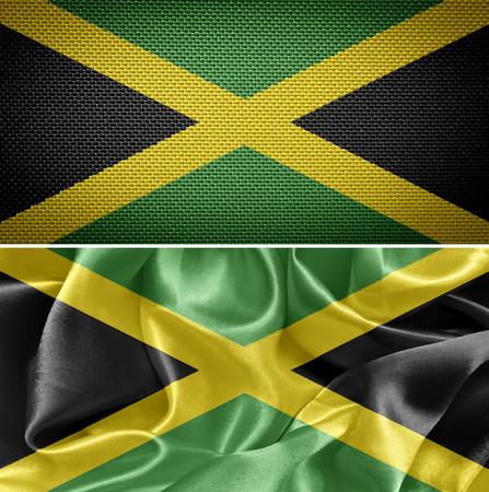 jamaican: Jamaican textile flags