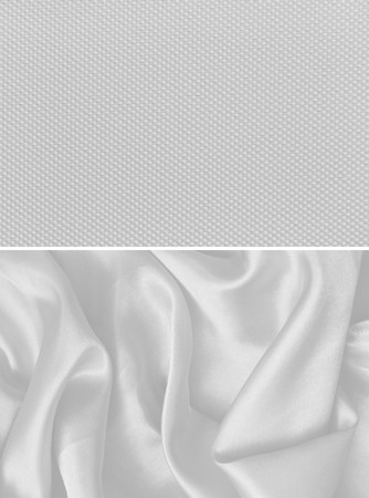 satin background: texture of white canvas background