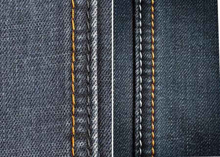 denim fabric: denim fabric in the background Stock Photo