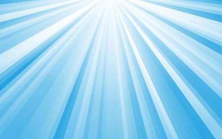 shining rays of light