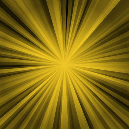 colored stripes on a light background, abstract illustration pattern. Rays laser yellow, black Stock Photo