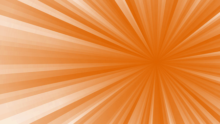 Colored stripes on a light background, abstract illustration pattern. Rays laser white, orange Stock Photo