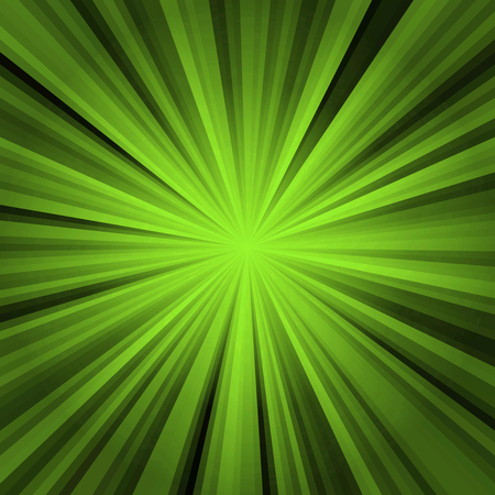 Colored stripes on a light background, abstract illustration pattern. Rays laser green, black