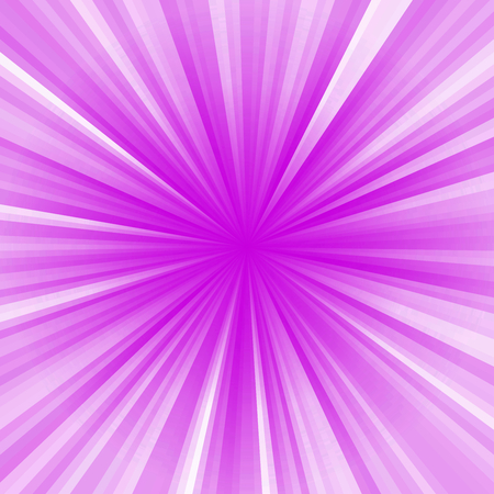 Colored stripes on a light background, abstract illustration pattern. Rays laser pink, purple, white