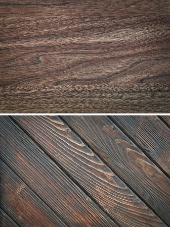weathered: Wood texture. Lining boards wall. Wooden background. pattern Showing growth rings Stock Photo