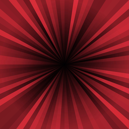 Colored stripes on a light background, abstract illustration pattern. Rays laser Stock Photo